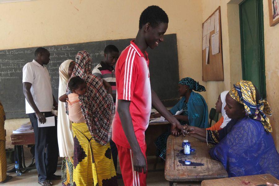 A l'école Madina de Niamey, le 21 février 2016