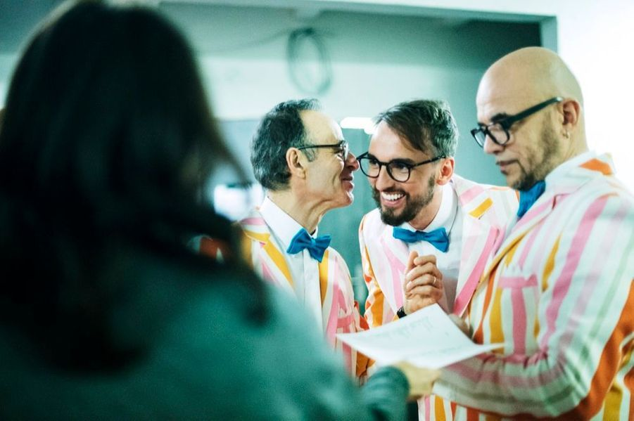 Trio magique, Goldman, Willem, Obispo.