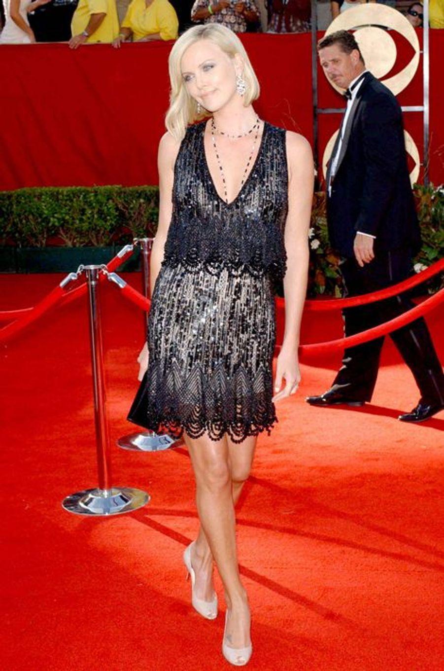 En Chanel Couture aux Emmy Awards 2005