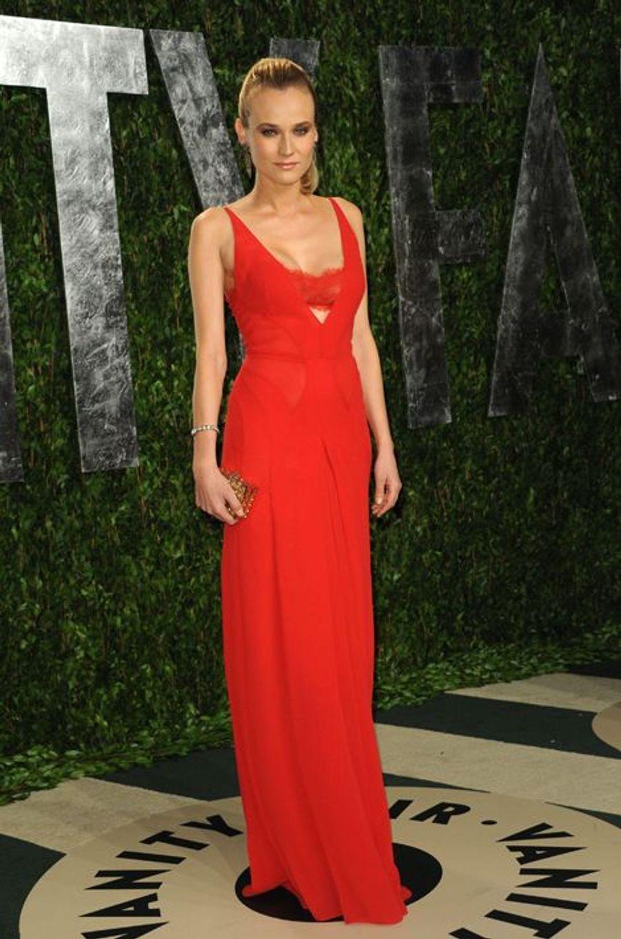 En Calvin Klein aux Oscars, en février 2012
