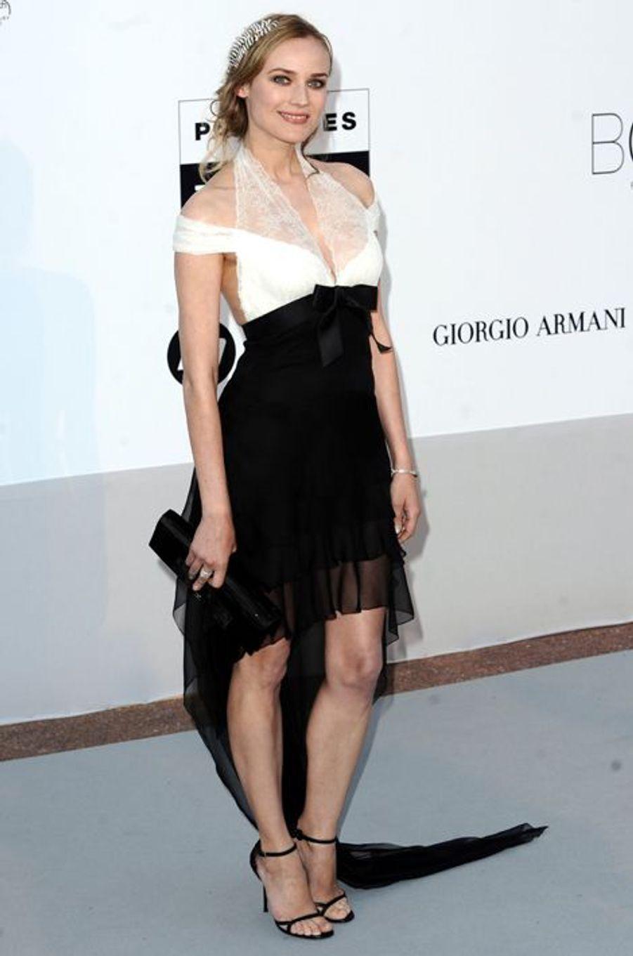 En Chanel au gala de l'AmFar, en mai 2010