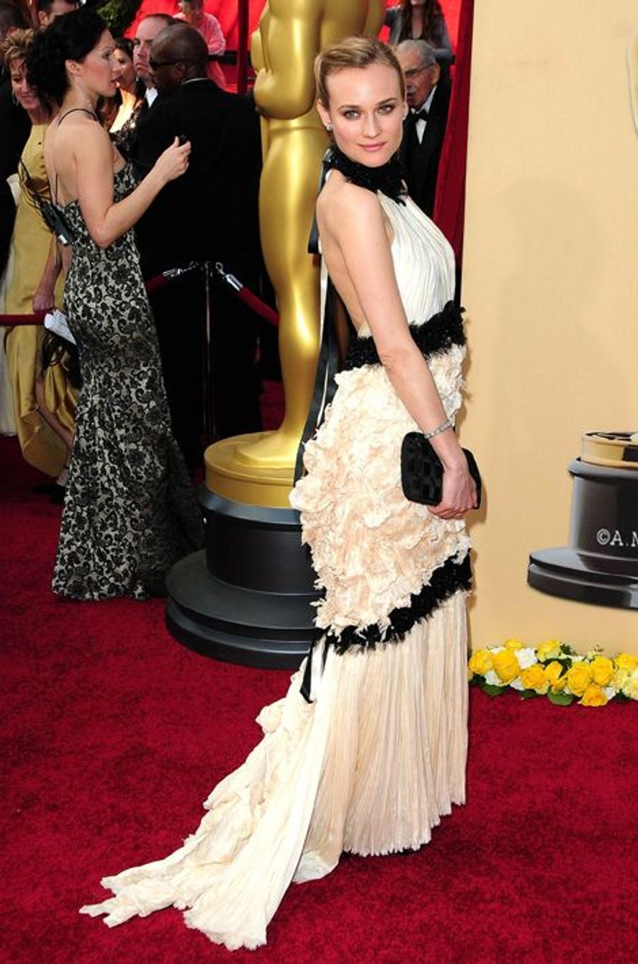 En Chanel Couture aux Oscars, en mars 2010