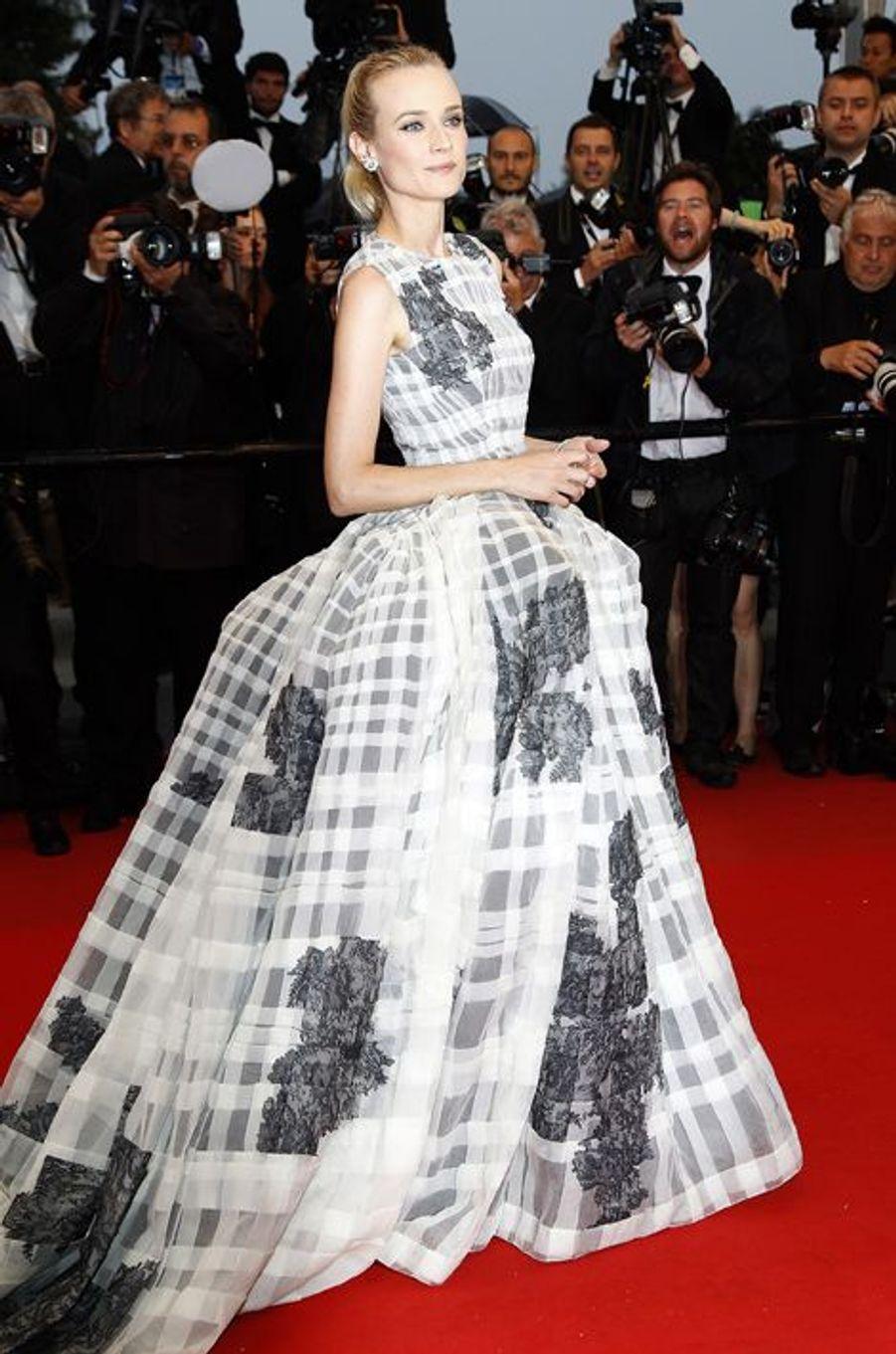 En Christian Dior Couture au Festival de Cannes 2012
