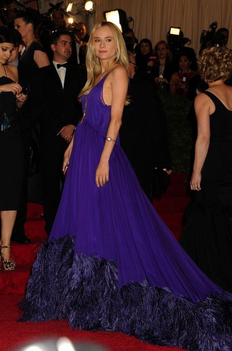 En Prada au Gala du Met, en mai 2012