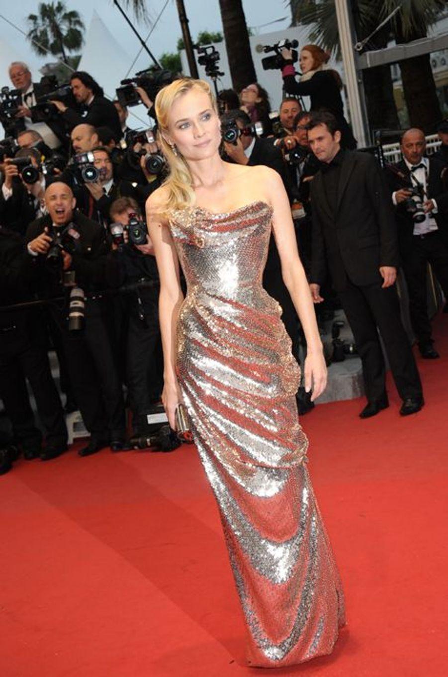 En Vivienne Westwood au Festival de Cannes 2012