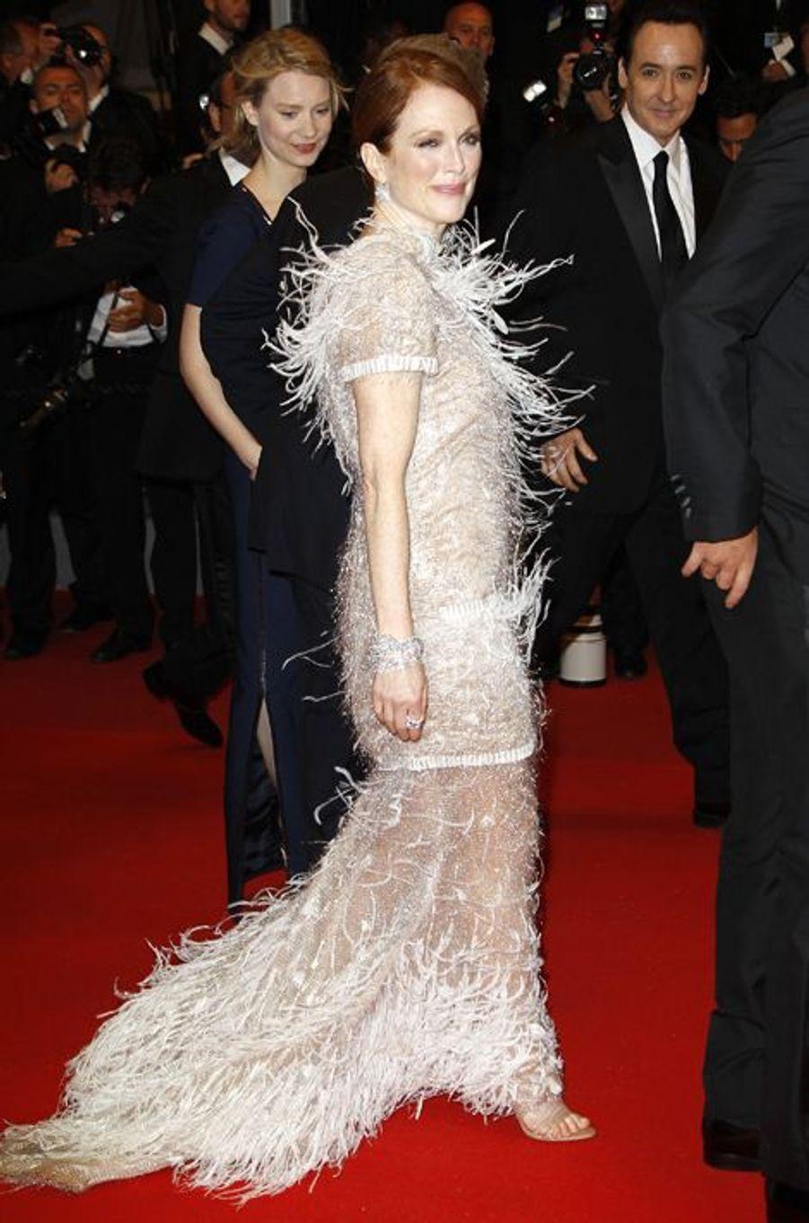 En Chanel Couture au Festival de Cannes 2014