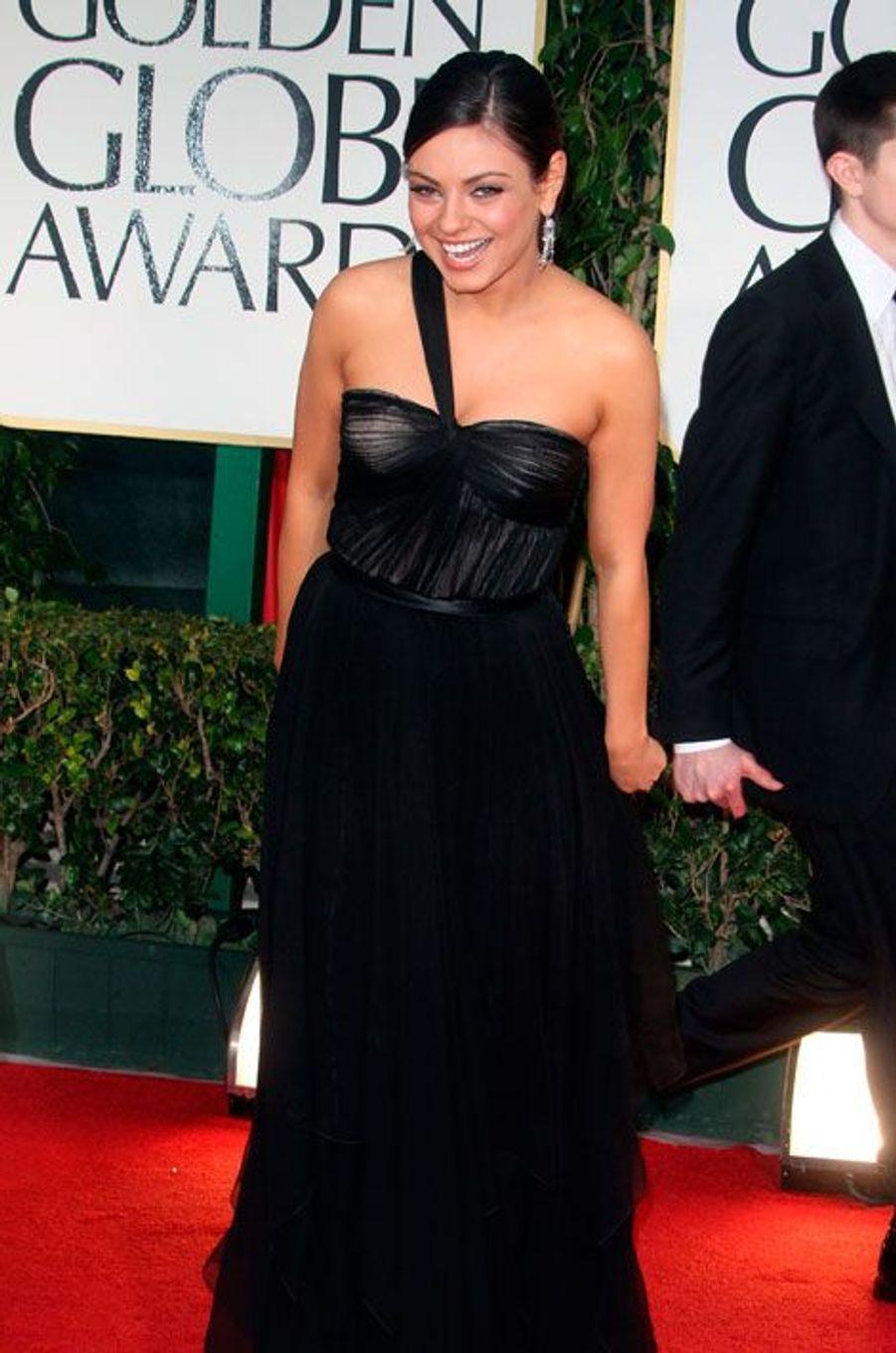 Cérémonie des Golden Globes, 2012