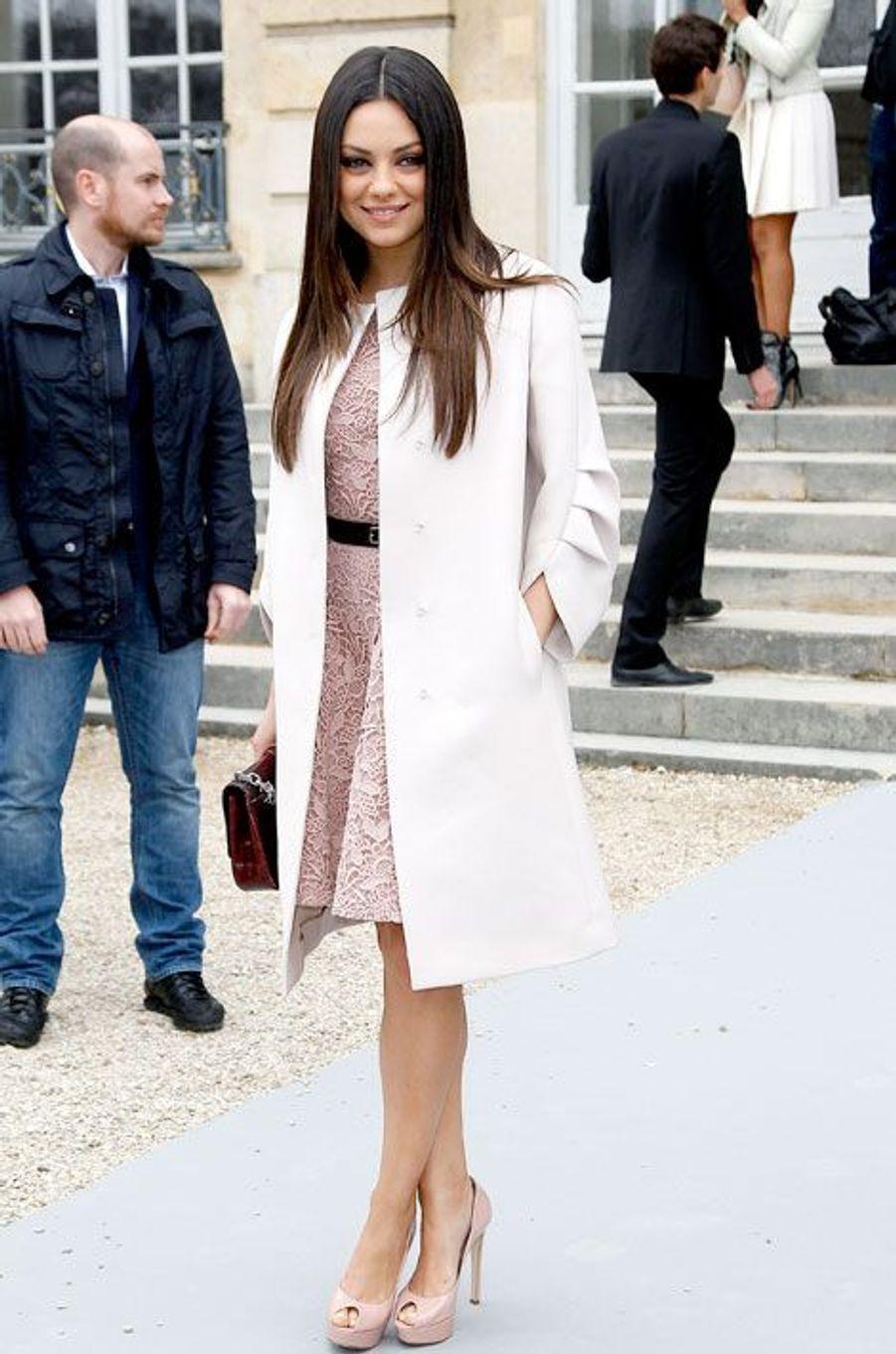 """Défilé """"Dior"""" à Paris, mars 2012"""