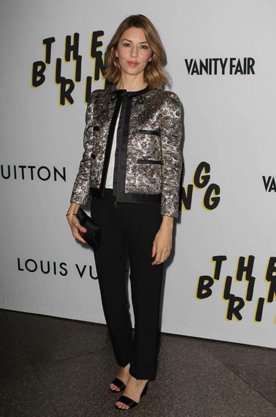 """En Louis Vuitton à la première de """"The Bling Ring"""" lors des Directors Guild Awards, en juin 2013"""