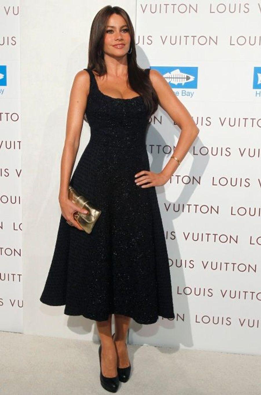 A l'ouverture d'une boutique Vuitton à Santa Monica (août 2010)