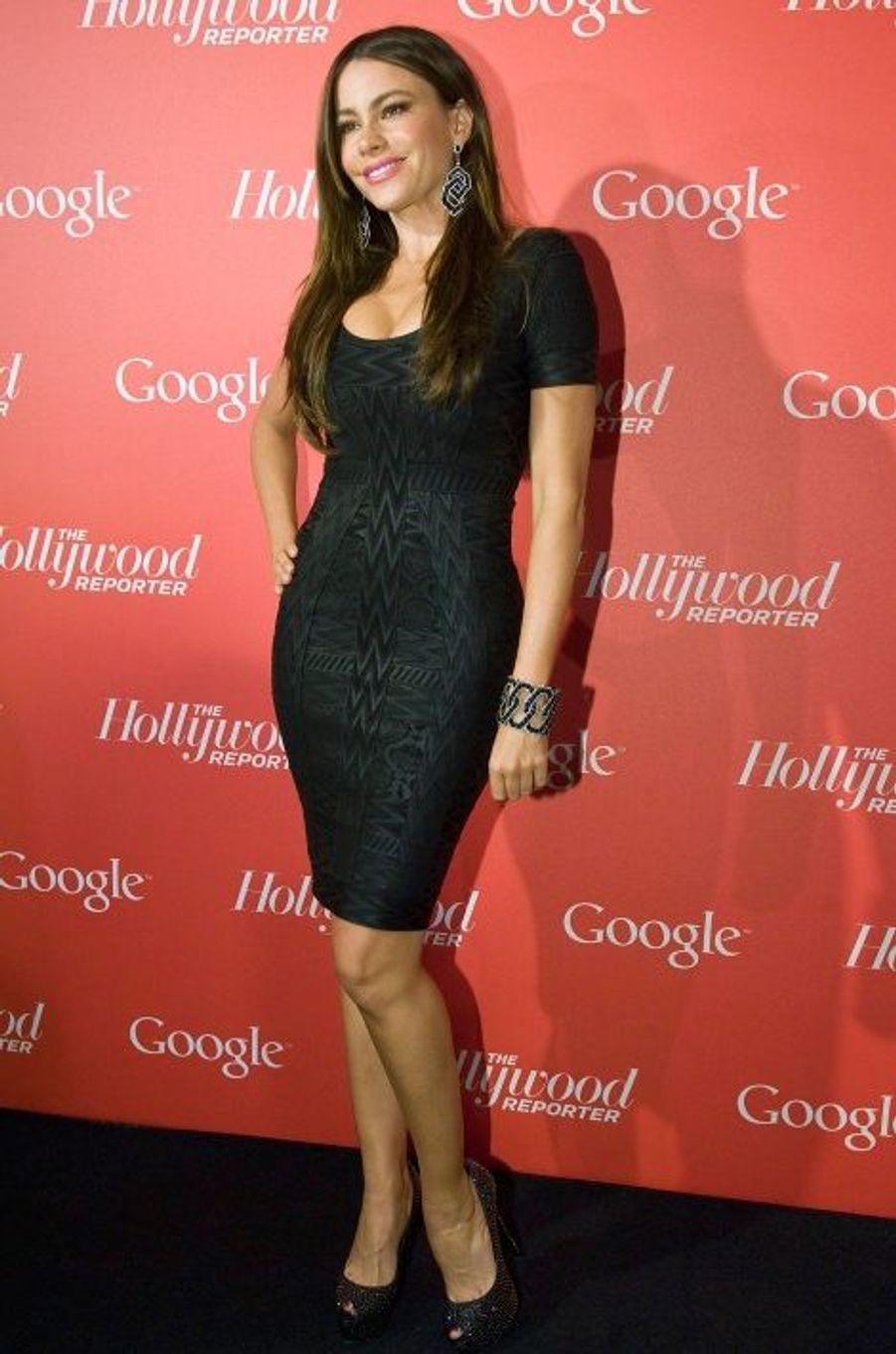 A une soirée organisée par Hollywood Reporter (avril 2012)