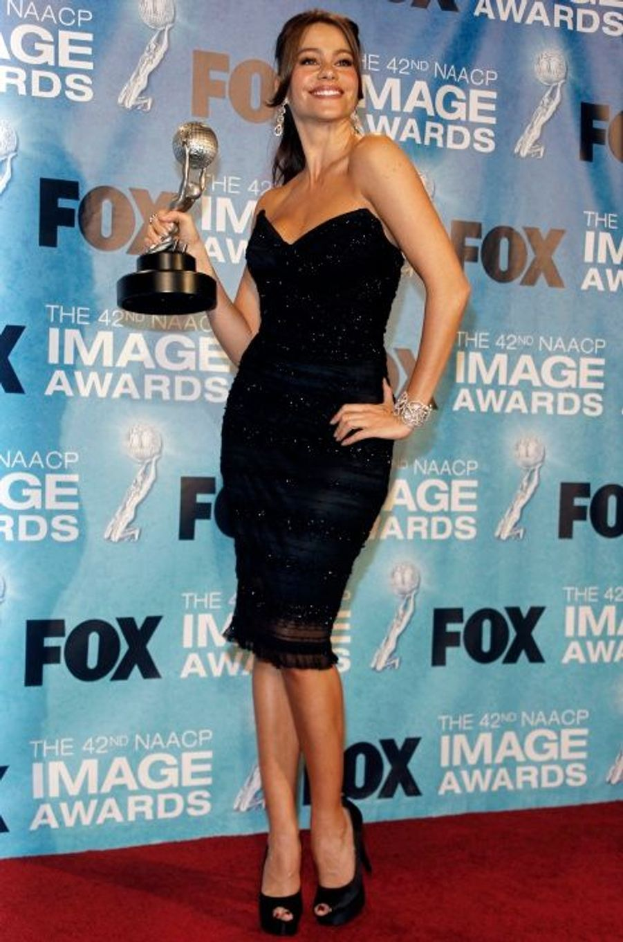 Aux NAACP Awards (mars 2011)
