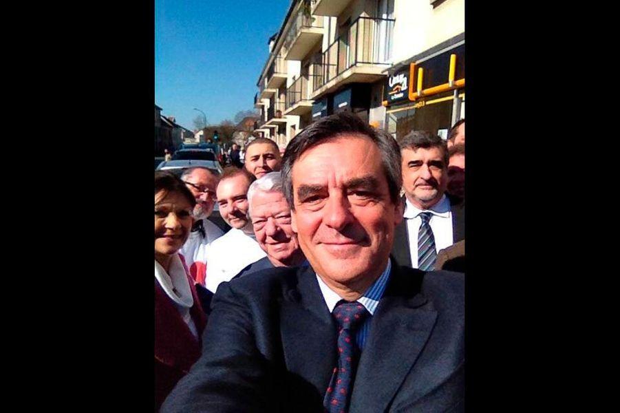 François Fillon à Deuil-la Barre