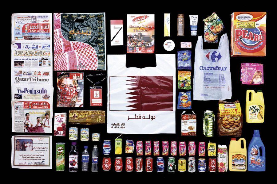 «Qatar»: Activia et Coca.