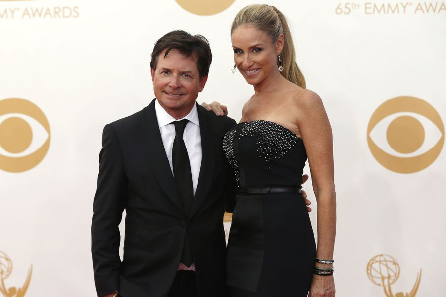 Michael J. Fox et sa femmeTracy Pollan