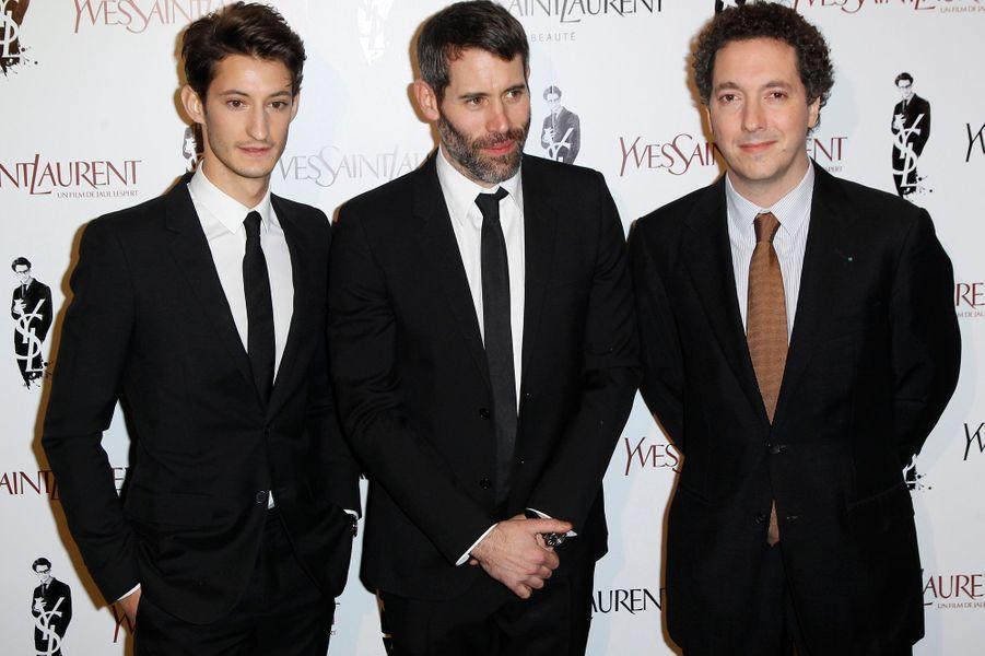 Pierre Niney, Jalil Lespert et Guillaume Gallienne