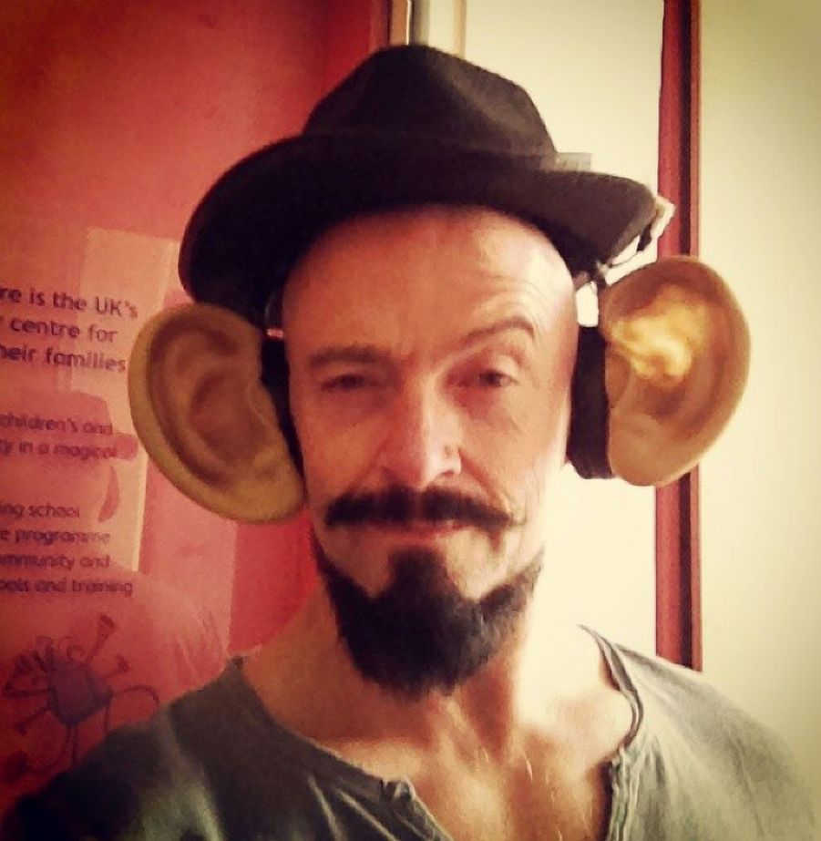 Hugh Jackman et ses grandes oreilles