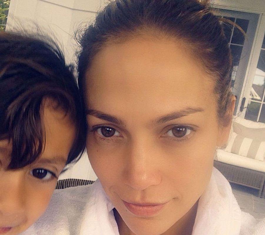 Jennifer Lopez sans maqullage