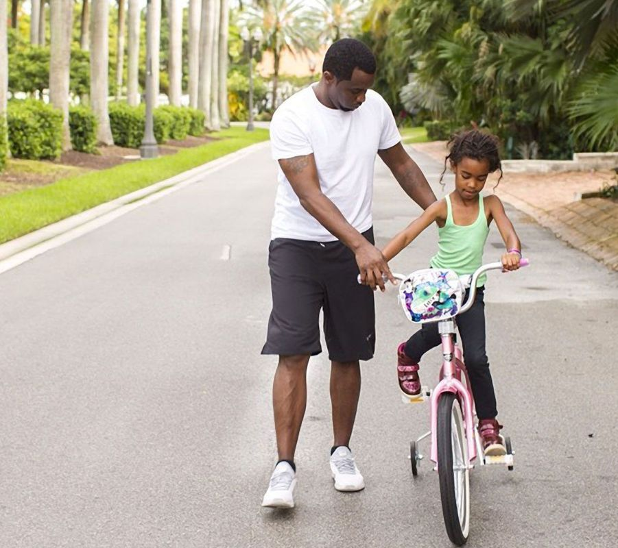 Puff Daddy et sa fille