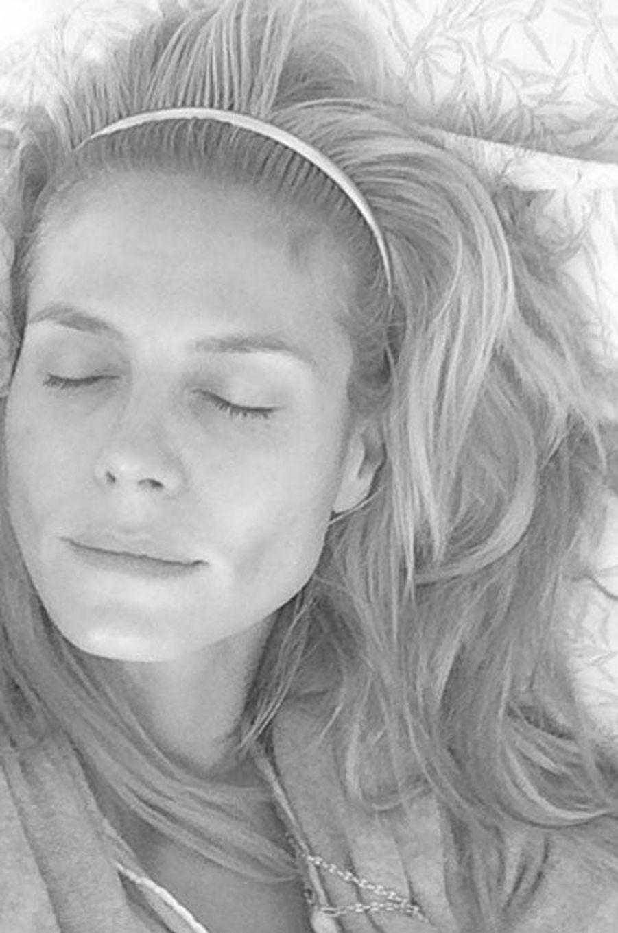 Heidi Klum au naturel