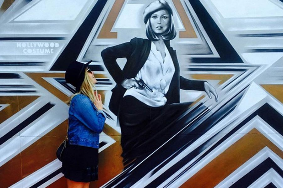 Reese Witherspoon en admiration devant Faye Dunaway
