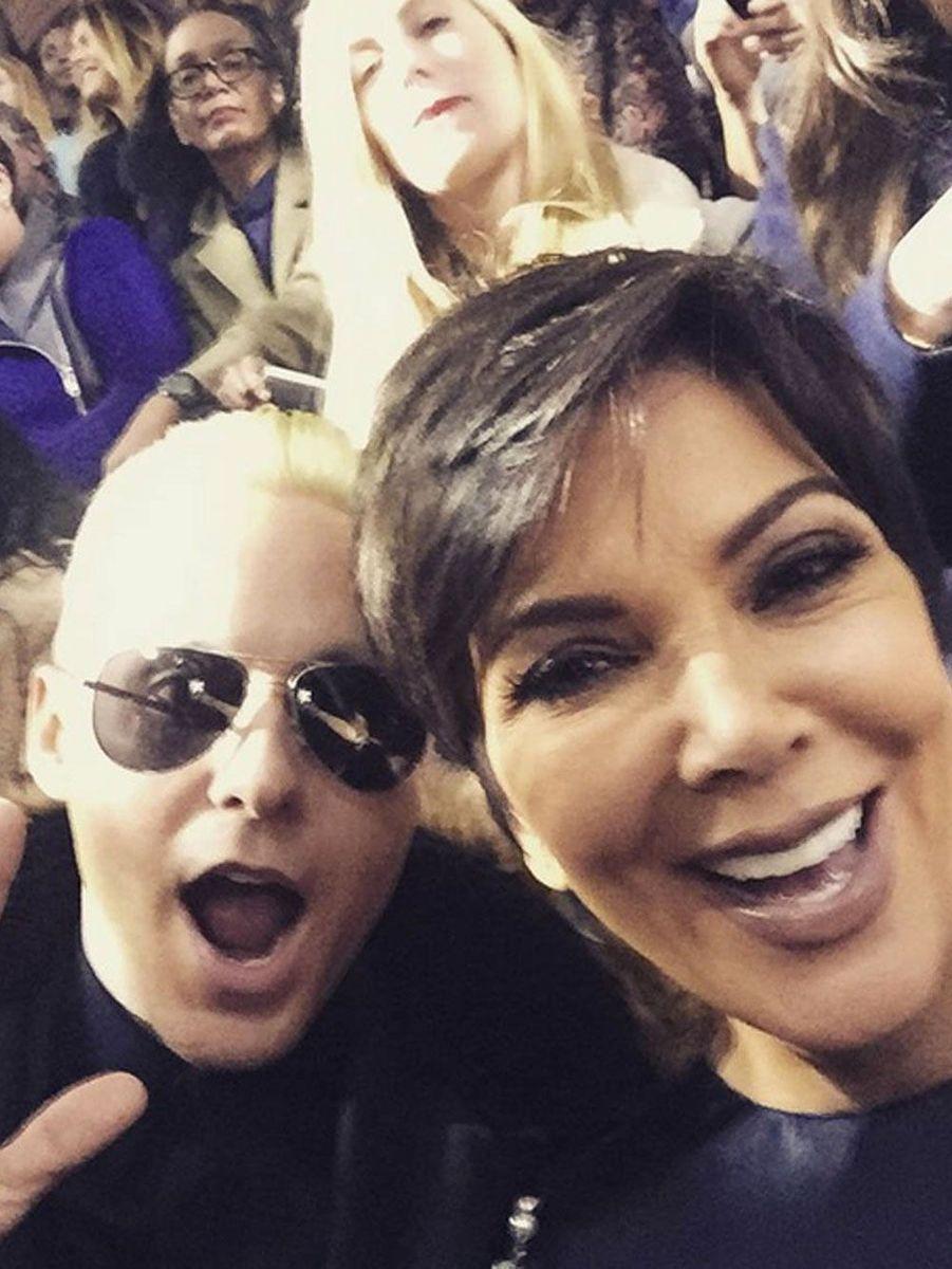 Kris Jenner n'est pas avec Kim Kardashian mais bien avec Jared Leto