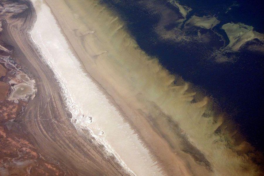 La sécheresse vue du ciel