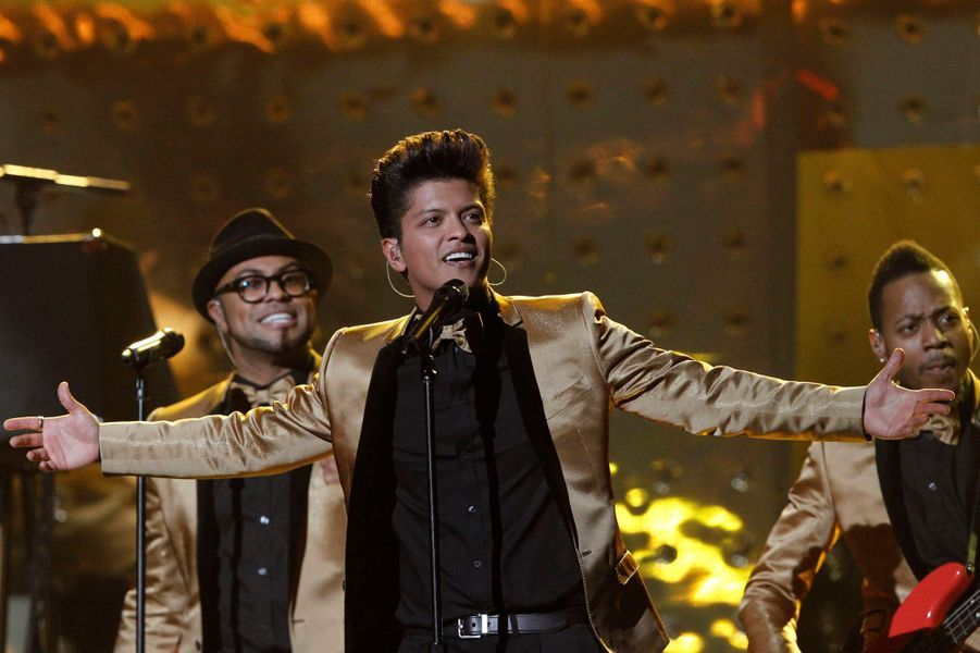 """Bruno Mars, """"Locked out of heaven"""""""