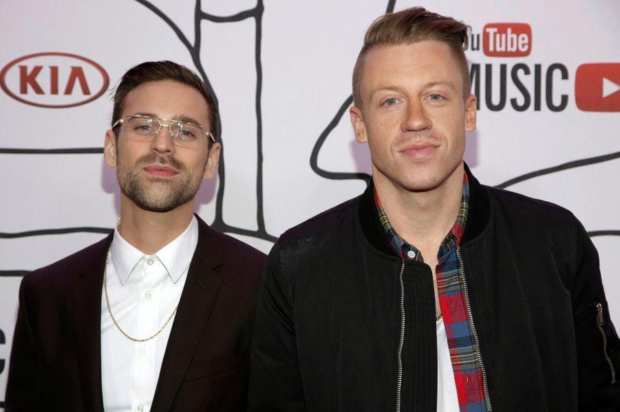 """Ryan Lewis et Macklemore: """"Thrift Shop"""" et """"Can't hold us"""""""