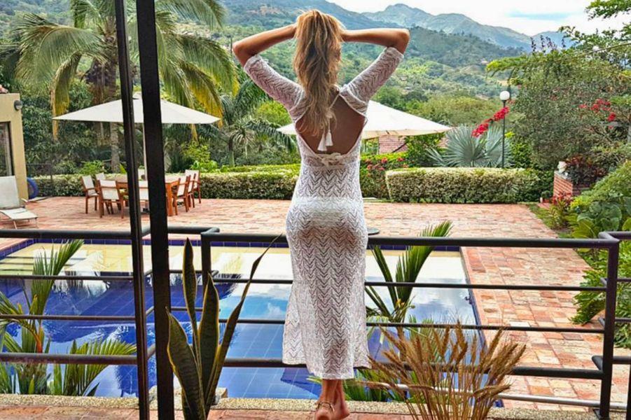 Laury Thilleman en Colombie