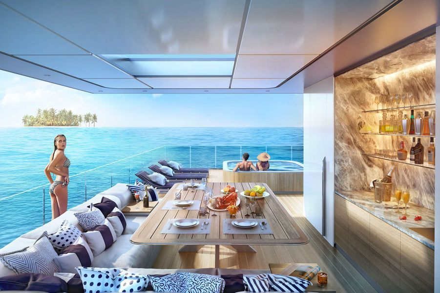 "La villa ""Floating Seahorse, signature edition"", aux Emirats arabes unis"