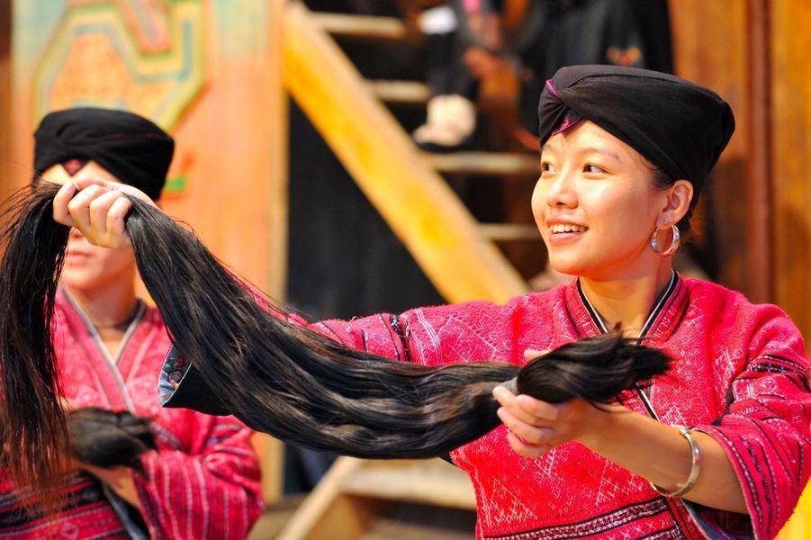 чистим, китайская коса в картинках материалов, большому