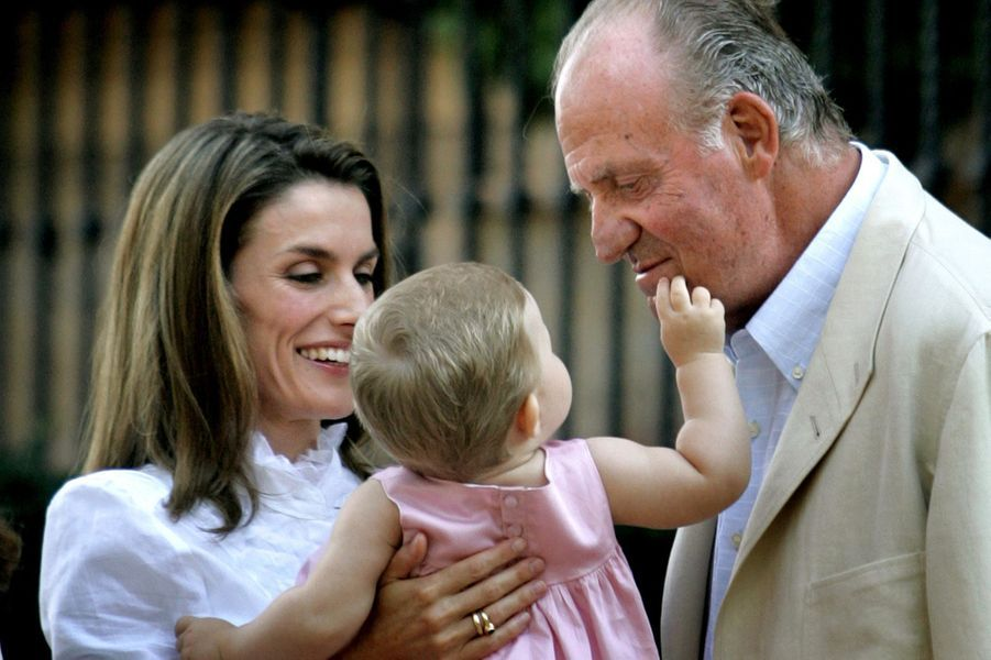 En 2006, avec Juan Carlos et Leonor