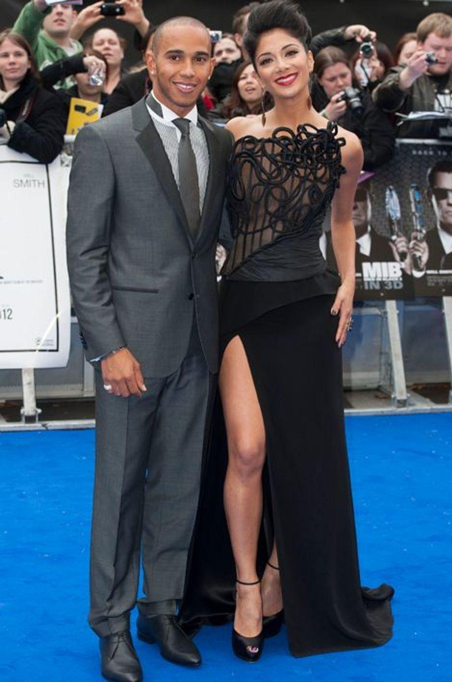 """A la première londonienne de """"Men in Black 3"""", en mai 2012"""