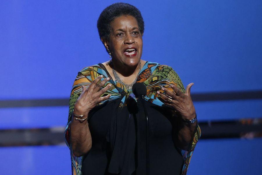 L'activiste Myrlie Evers-Williams a été récompensée