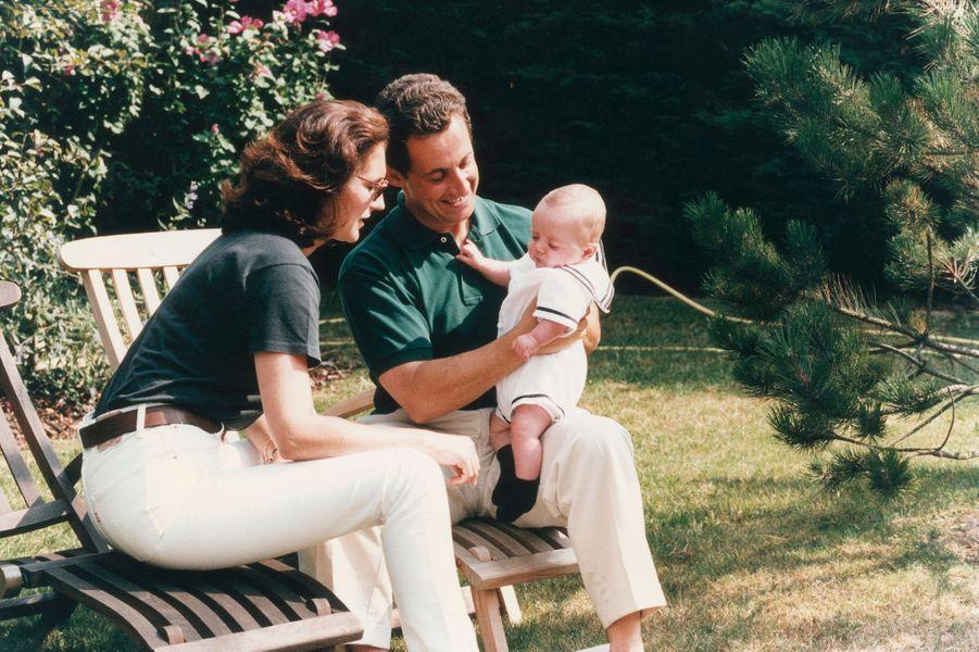 Louis à trois mois