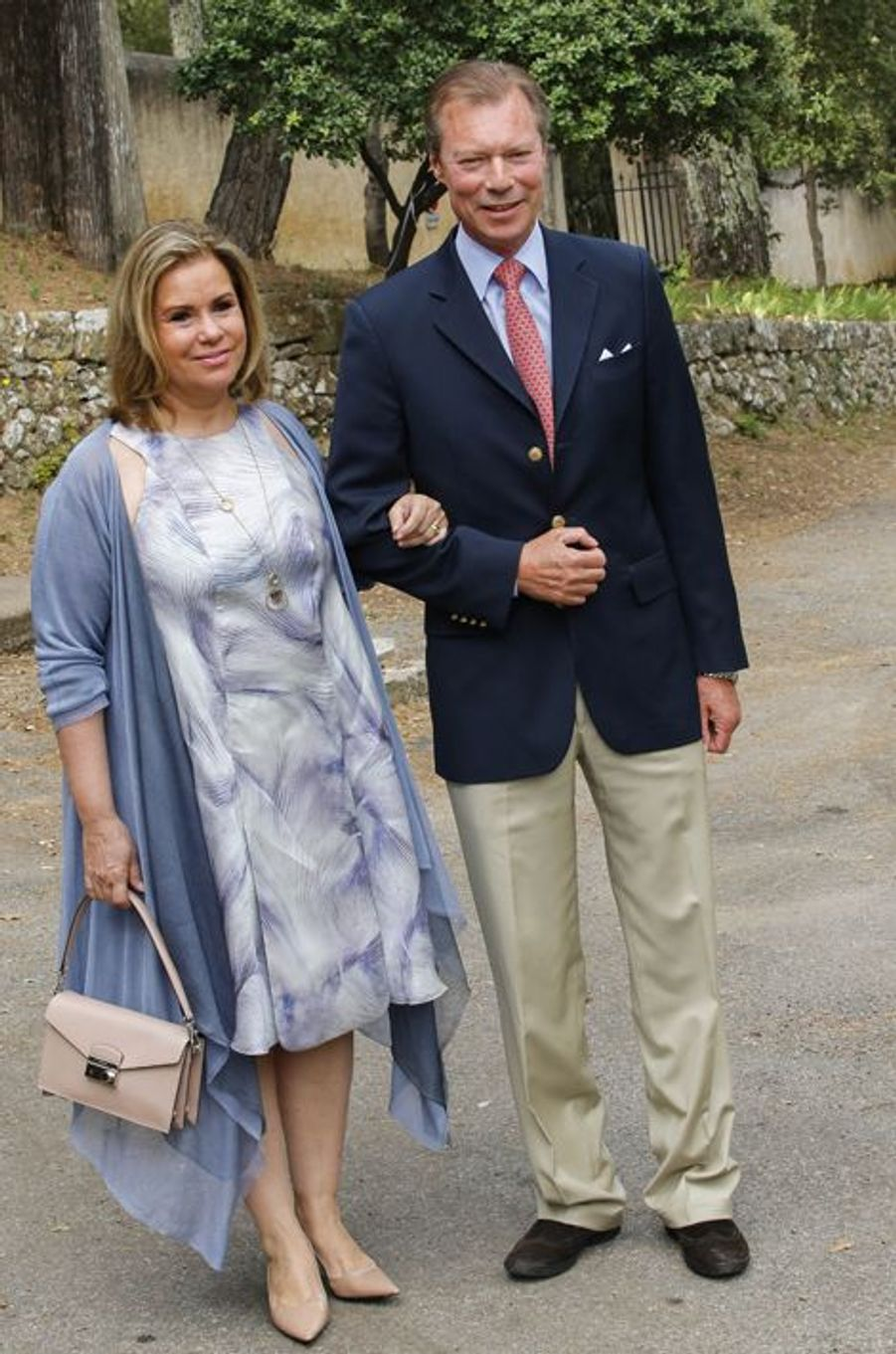 Le grand-duc Henri et la grande-duchesse María Teresa Mestre