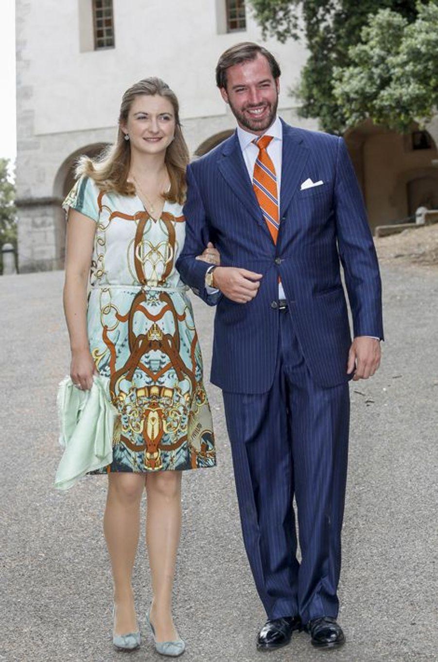 Le grand-duc héritier Guillaume et son épouse la princesse Stéphanie