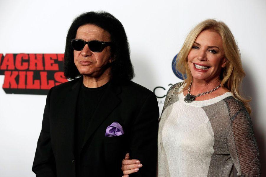 Gene Simmons et sa femme