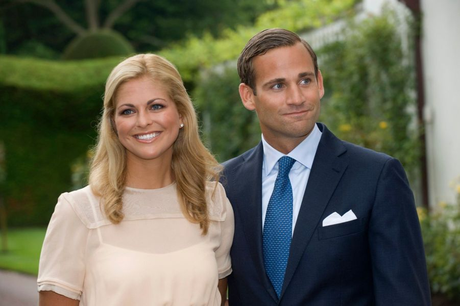 Madeleine et son ancien fiancée Jonas Bergstrom, en 2009