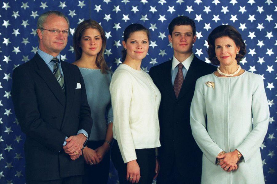 Photo de famille pour le Noel 1998