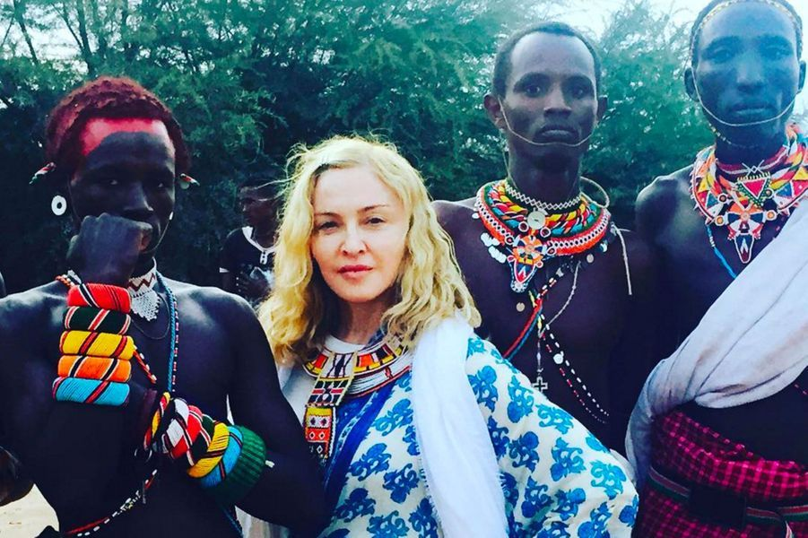 Madonna au Malawi