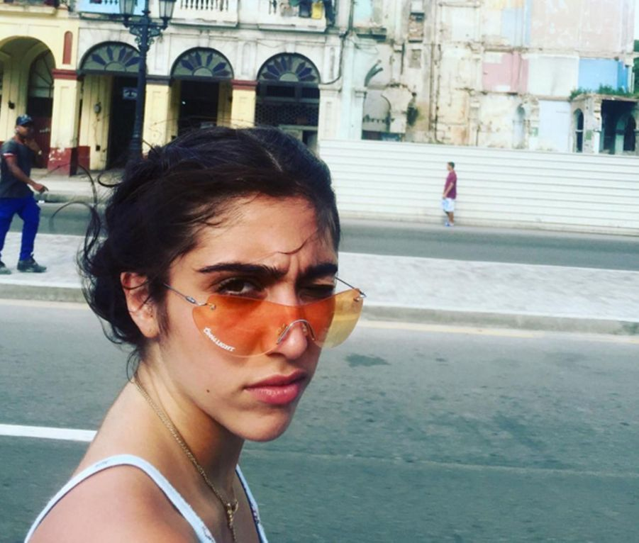 Lourdes, la fille de Madonna était aussi à Cuba
