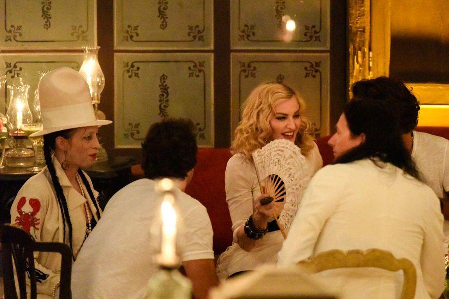 Madonna fêtait son anniversaire à Cuba en compagnie de ses proches