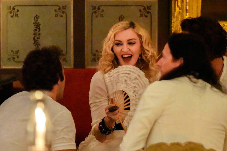 Madonna fêtait son anniversaire à Cuba