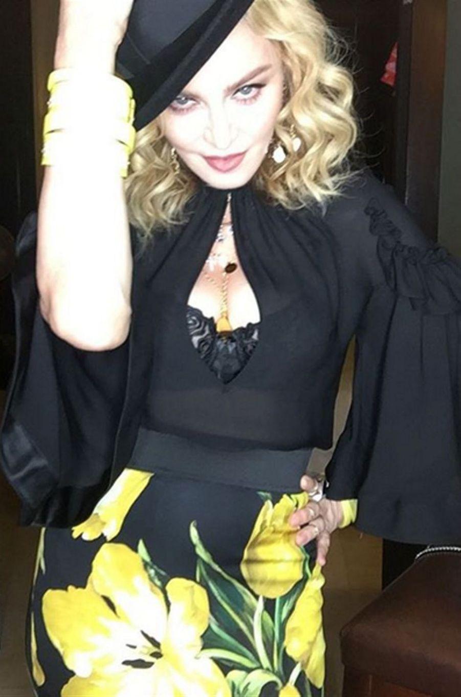 Madonna, très sexy pour ses 58 ans