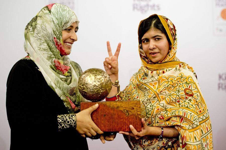 Avec Tawakul Karman