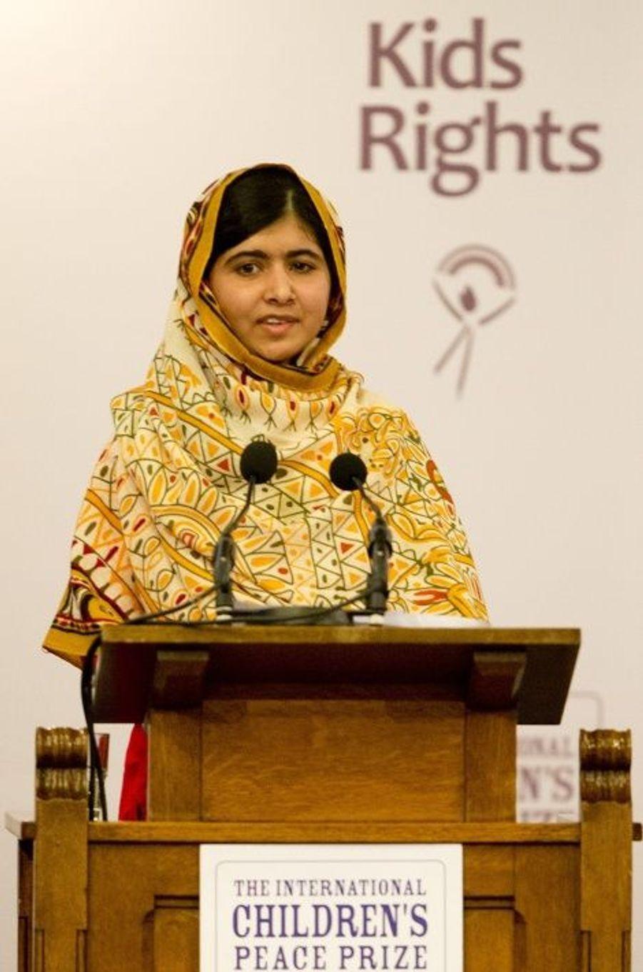 Malala à nouveau récompensée