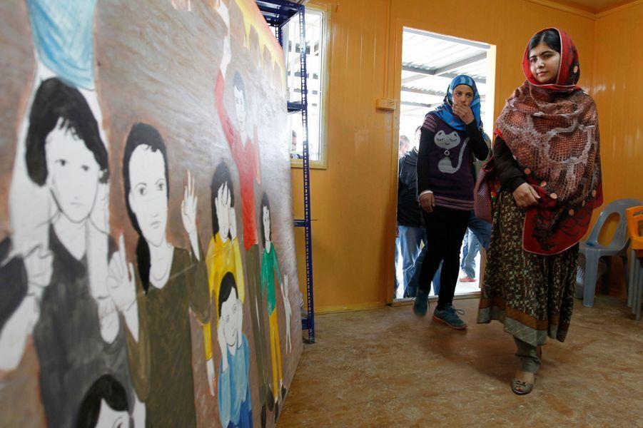 Malala au secours des réfugiés syriens