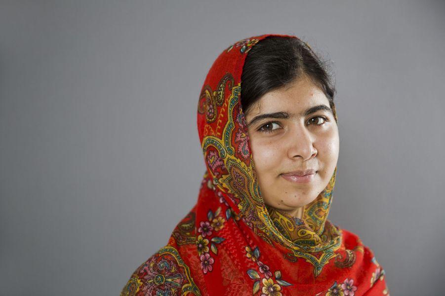 Malala, en juillet 2014